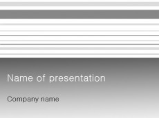 Free Grey Columns PowerPoint template presentation