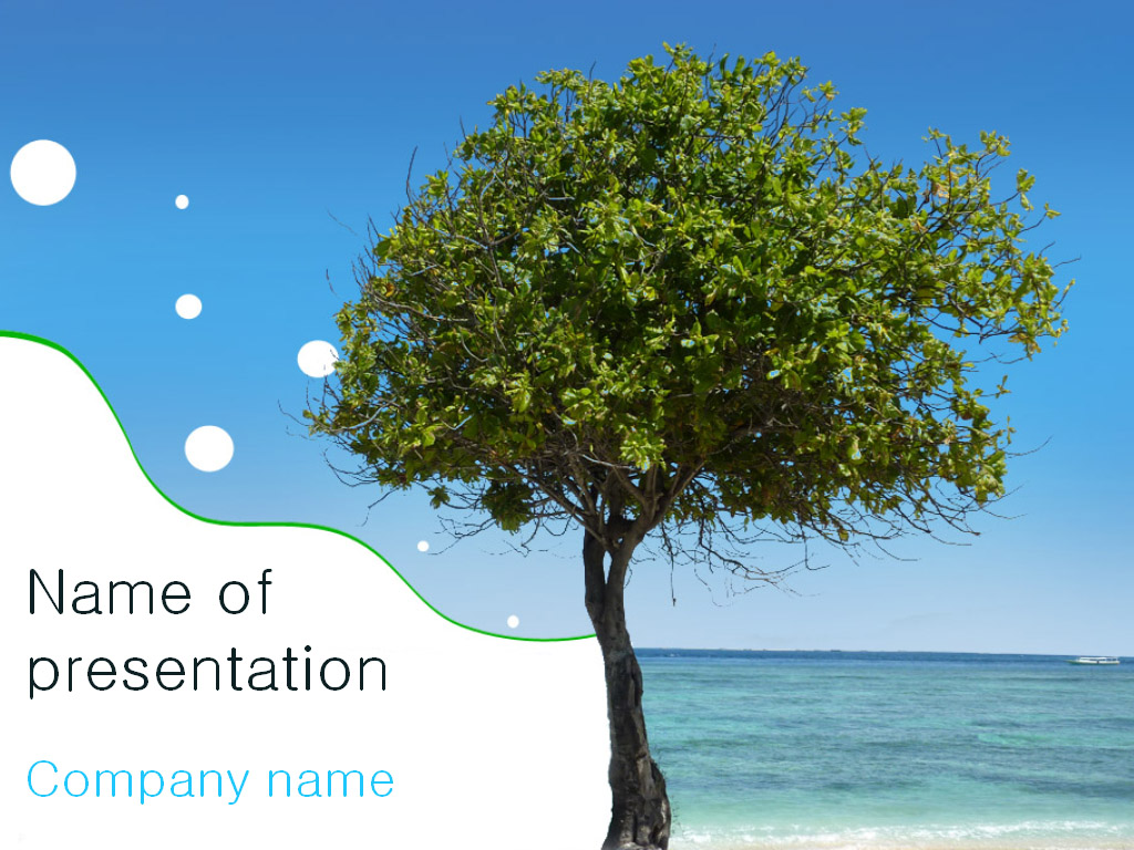 download free tree powerpoint template for your presentation