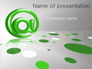 Free email PowerPoint template presentation