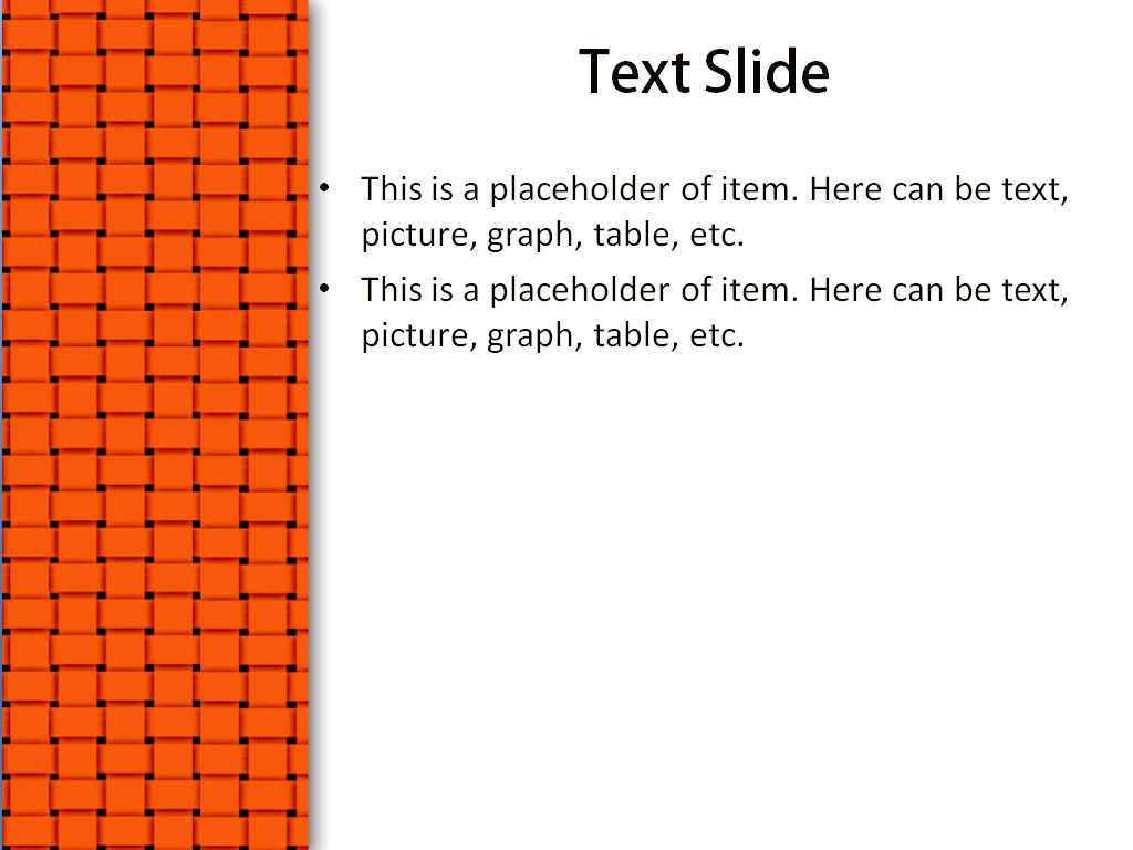 download free orange powerpoint template for your presentation