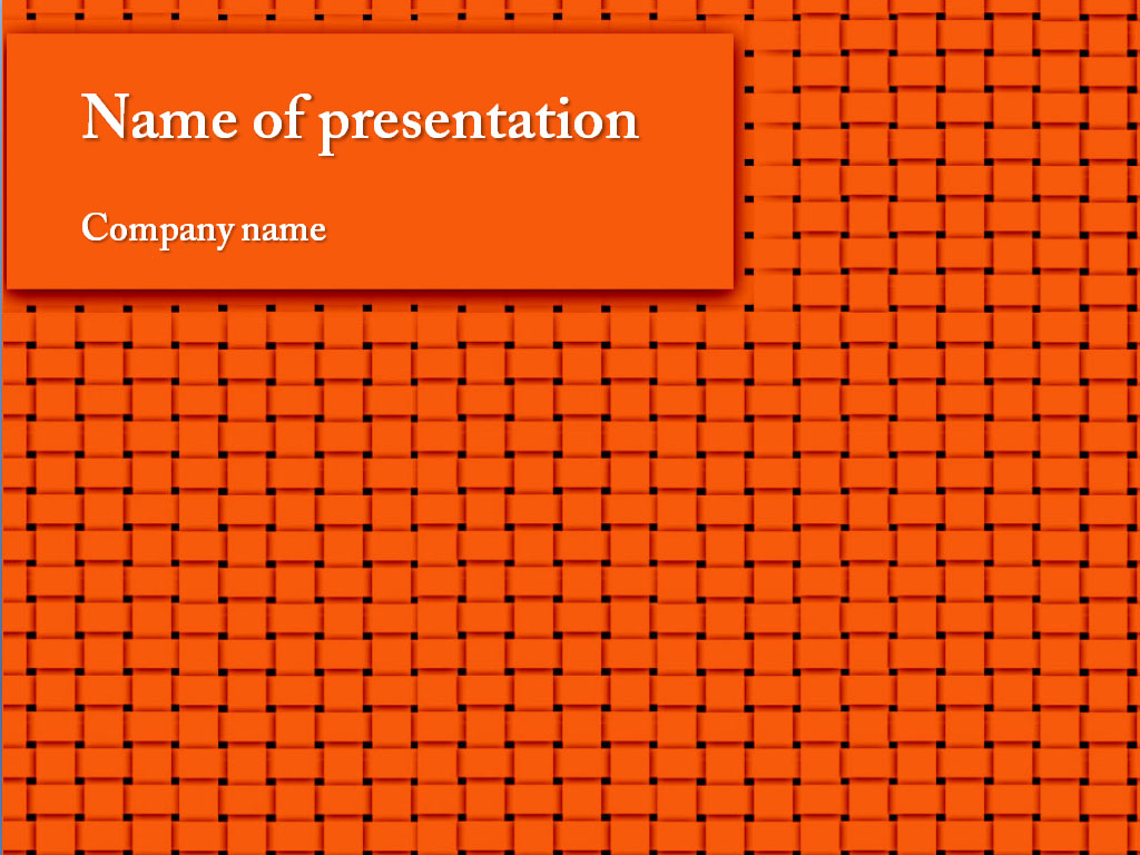 Download free orange powerpoint template for your presentation orange powerpoint template toneelgroepblik Gallery