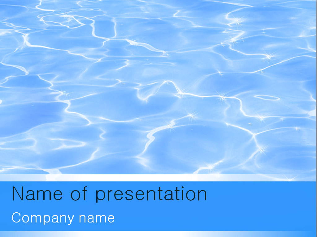 Download free water powerpoint template for your presentation water powerpoint template toneelgroepblik Choice Image