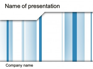 Free Blue lines powerpoint template presentation