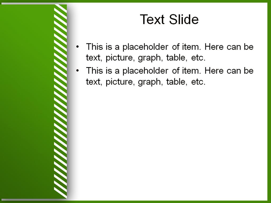 Download free green white powerpoint template for your presentation green white powerpoint template toneelgroepblik Choice Image