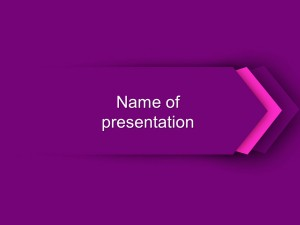 Free purple powerpoint template presentation