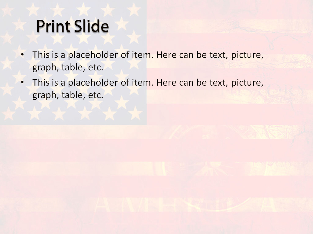 Download free usa flag powerpoint template for your presentation usa flag powerpoint template toneelgroepblik Choice Image