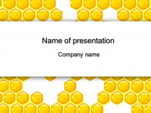 Free Honeycomb powerpoint templates presentation