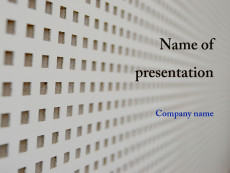 Free white abstract powerpoint template