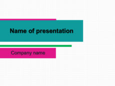 Two bars powerpoint template presentation