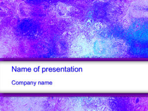 Free Colorful Ice powerpoint template presentation