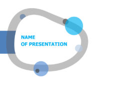 Free hooked ring powerpoint presentation template