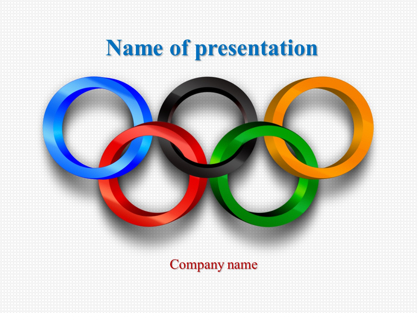 download free olympic sports powerpoint template for your