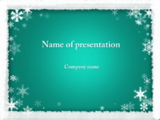free winter coming powerpoint template