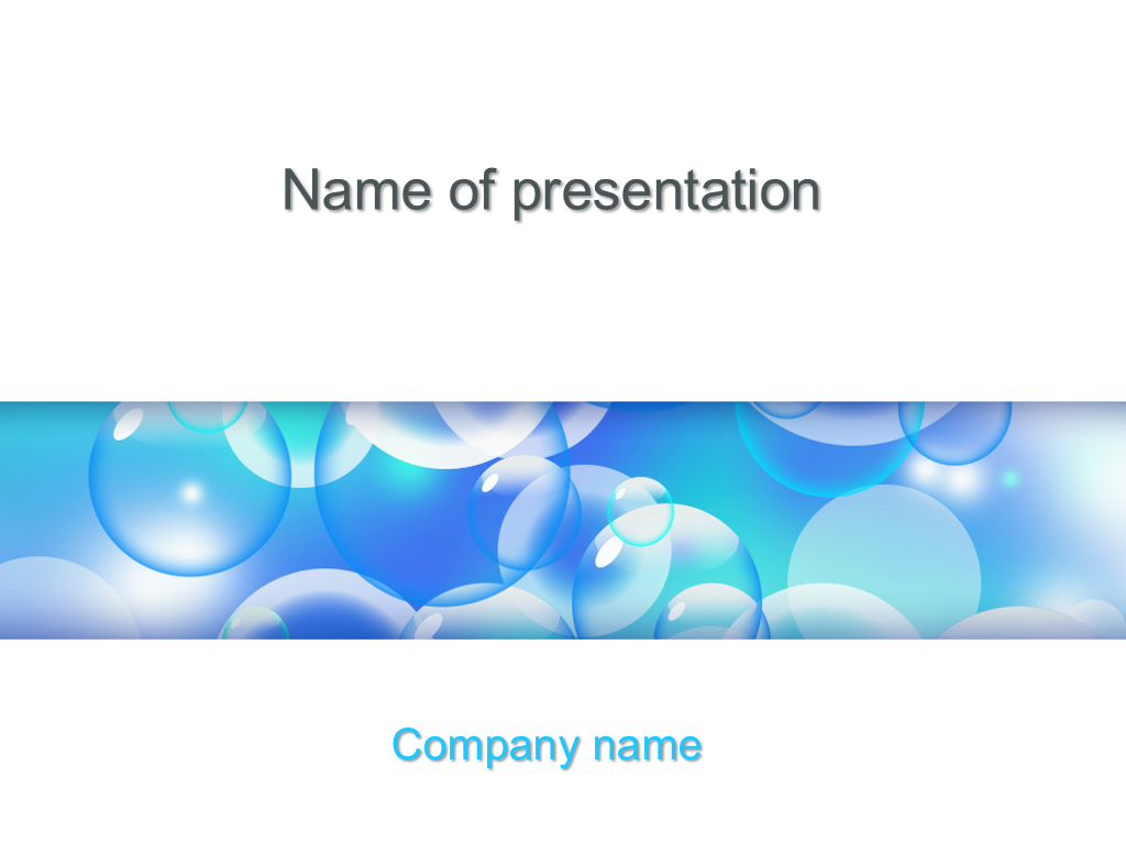 download free flying balloons powerpoint template for your presentation
