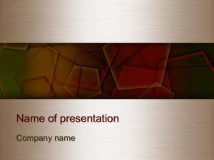 free fall season powerpoint template presentation