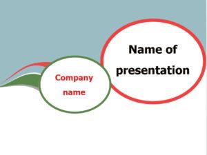 free speech bubble powerpoint template presentarion