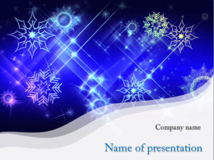 free-cold-Blizzard-powerpoint-template-presentation