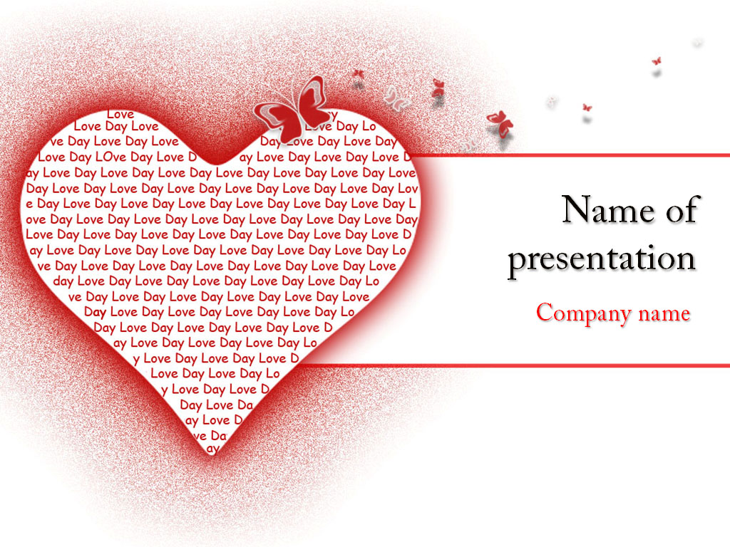 Download free fall in love powerpoint template for your presentation fall in love powerpoint template toneelgroepblik Images