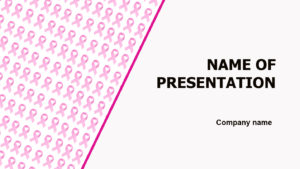 Breasts Health powerpoint template presentation
