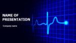Heart Cardiograma powerpoint template presentation