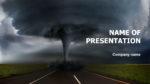 Hurricane Powerpoint template presentation