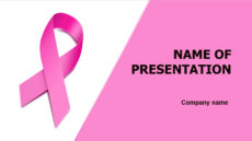 Breast Cancer powerpoint template presentation