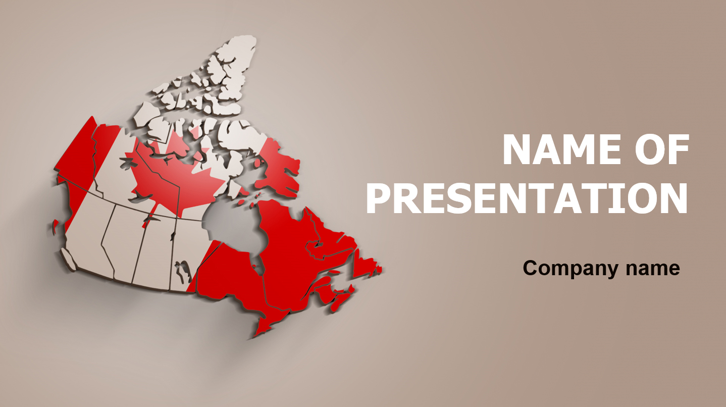 download free canada life powerpoint template for your presentation