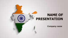 India Life powerpoint template presentation