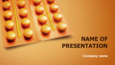Medicines For Health powerpoint template presentation