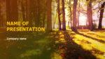 Sunny Fall powerpoint template presentation