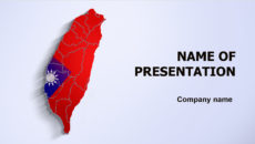 Taiwan powerpoint template presentation