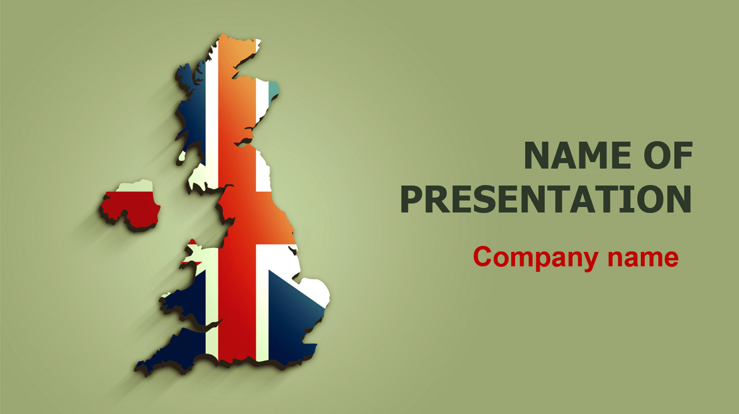 download free united kingdom flag powerpoint template for