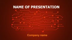 Free cryptocurrency powerpoint template presentation