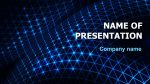 Machine Learning powerpoint template presentation